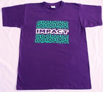 Impact T Shirt Small Purple